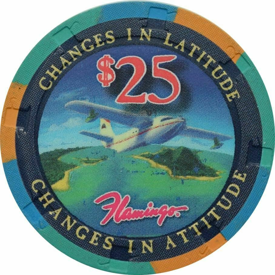 flamingo margaritaville casino las vegas 25 changes in latitude chip 2011 ebay ebay