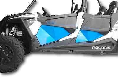 Turbo Lower Doors LIME SQUEEZE Polaris 2014-2019 RZR Four Door 4D 900 1000