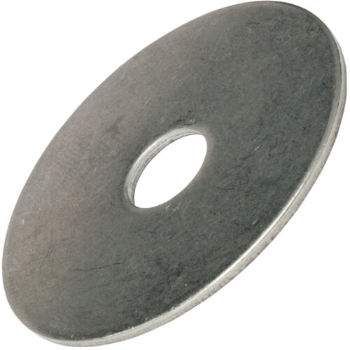 """1//4 x 1-1//4/"""" Fender Washers Large Diameter Stainless Steel 18-8 Qty 100"""