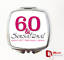 60 /& Sensational PERSONALISED 60th Birthday Gift compact mirror