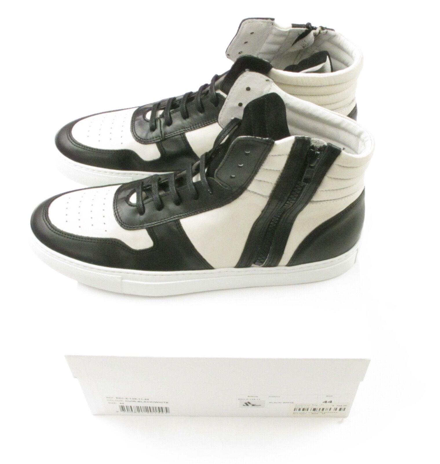 National Standard Edition 1 Zip Hi-Top Sneaker 42 44 Brand New