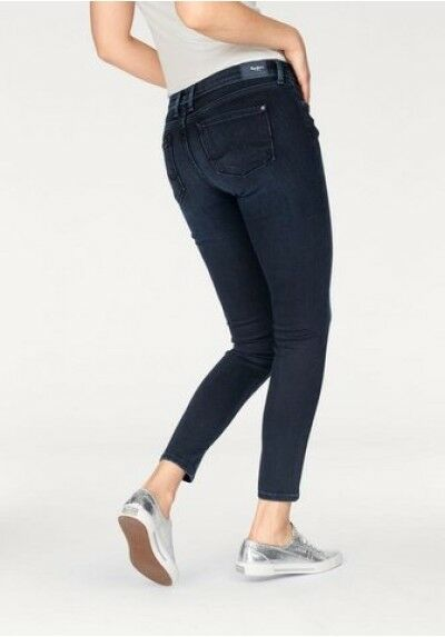 Pepe Skinny Jeans London Lola NEU W26-W30 L30 Damen Slim Fit Hose Stretch Denim