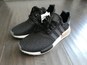 de98d98c39ce90 Adidas Women s NMD R1 Boost shoes sneakers new CQ2011 Black Carbon ...