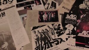 """Alcatrazz Graham Bonnet 80""""clipping collection japan  35sheets!!"""