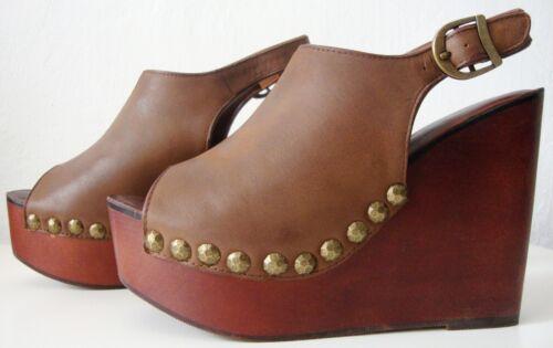Platform Shoes Platform Sandals Gr39 Leather Jeffrey Stud Nouveau Snick Campbell KcJ3T1Fl