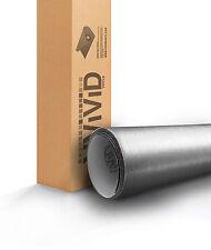 VViViD Brushed Silver Aluminum Vinyl car Wrap 6 ft x 5 ft 3mil decal sticker new