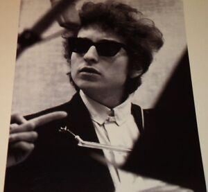 BOB DYLAN 1962 NYC Guitar FOLK B/&W FRAMED PRINT C@@L !!