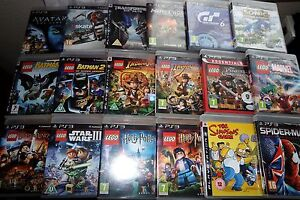 PS3-Kids-Games-Make-your-selection-Playstation-3-SONIC-MINECRAFT-DISNEY-LEGO