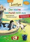 Lesetiger - Der kleine Seehund reißt aus von Sarah Herzhoff (2016, Gebundene Ausgabe)