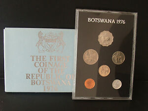 1976-The-First-Coinage-of-The-Republic-of-Botswana-gift-envelope-proof