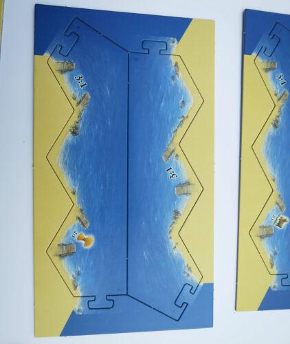 Die Siedler von Catan Rahmen für Basisspiel KOSMOS 6 Teile Ersatzteile NEU