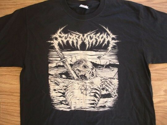 Stormcrow Coffins tour shirt discharge amebix antisect bolt thrower crust dbeat