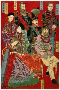 2403 Asian people Japanese design vintage POSTER.Oriental Decorative wall Art