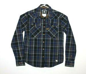 G-Star-Raw-Perth-Adams-Shirt-L-S-Men-039-s-Size-Medium