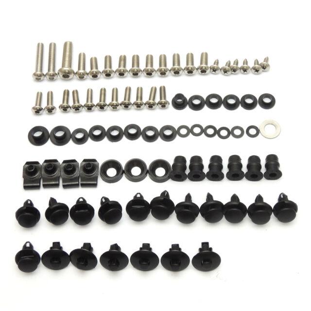Complete Fairing Bolts Kit Screws Nuts For Suzuki GSXR600 750 2008-2010 2009 K8