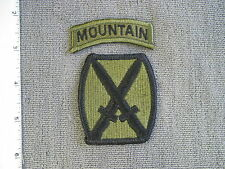 1985 TIOH sample 10th Mountain (Light) Division (Merrowed - no plastic) by Best