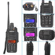 Top Retevis RT6 VHF+UHF Walkie-Talkie 128CH Cross band FM 2-Way Radio as