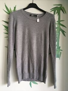 S9) PULL gris Taille S/M CC FASHION