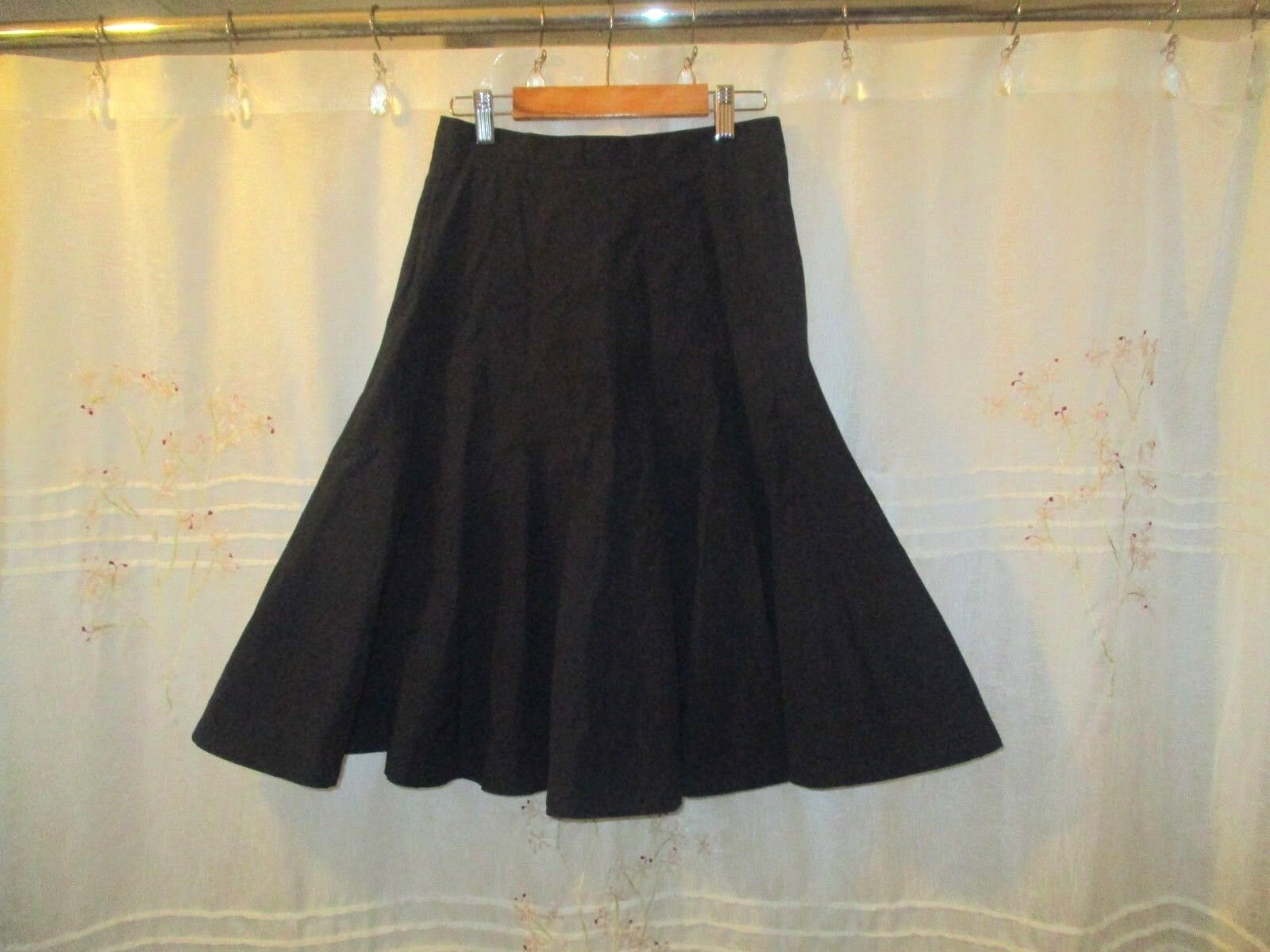 Marc by Marc Jacobs Womens Skirt Beautiful Navy Flared Party Work Holiday 2 XS