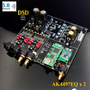 Details about HIFI Dual core AK4497 DAC Decoder Product Support DSD