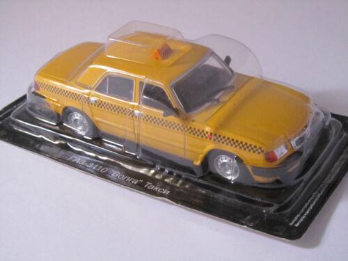 Taxi 1:43 DeAgostini Bonra Russian Service Cars unbespielt