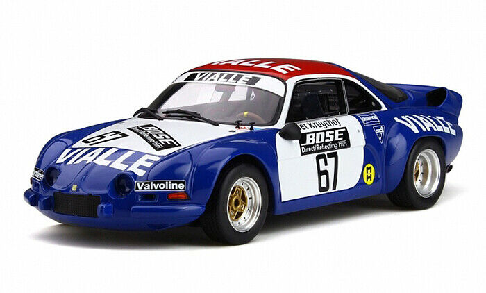 1:18 Otto Renault Alpine A110 Gr.5 #67 Rally Cross Kruythof