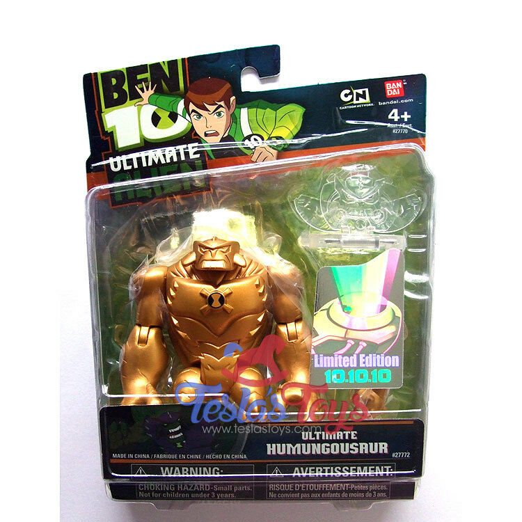 Ben 10 Ultimate Alien Action Figure 10.10.10 Special Edition - Ultimate Humun...