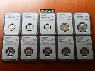 2017-S 225th Ann Enhanced Set NGC SP70 FIRST Releases 225TH Mint Label Live