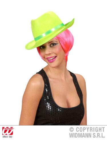 """NEON feutre /""""trendy/"""" en couleur taille 60 pour adultes Disco"""
