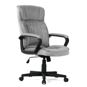 new modern microfiber executive office chair ergonomic high seat
