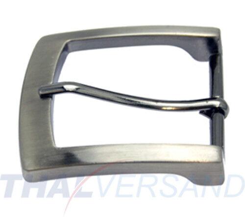 10 St. Gürtelschnallen 40mm Zinkdruckguss Silber Antik 4718054010 Gürtelschnalle