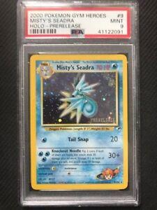 PSA-9-Mint-MISTY-039-S-SEADRA-PRERELEASE-HOLO-Pokemon-TCG-Gym-Heroes-9