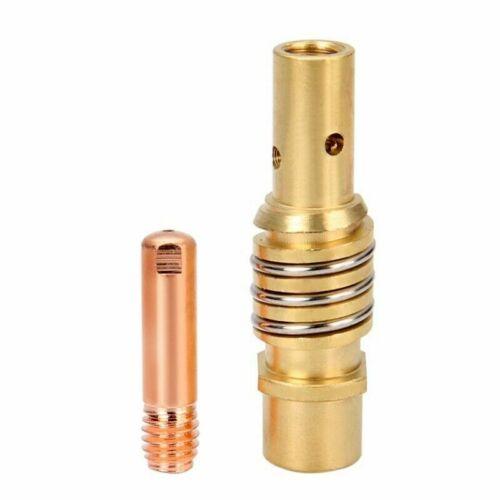 11 Pieces Mig Welding Nozzle Welder Torch Tip Holder Contact T For Binzel 15AK