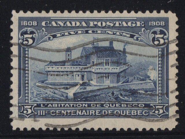MOTON114    #99 Tercentenary 5c Canada used well centered XF cv $100