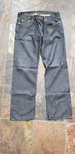 Jambe de Jeans droite chanceux marque 32x32 gRaHA