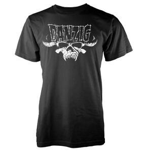 Musik Classic Logo T-shirt Dauerhafte Modellierung Danzig