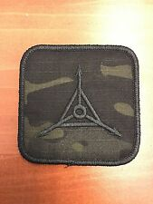 TAD Gear Triple Aught Design Multicam Black Logo Patch