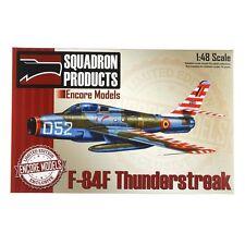 Encore Models 48006 F-84F Thunderstreak 1/48 Scale LE Plastic Aircraft Model Kit