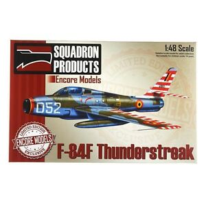 Encore-Models-48006-F-84F-Thunderstreak-1-48-Scale-LE-Plastic-Aircraft-Model-Kit
