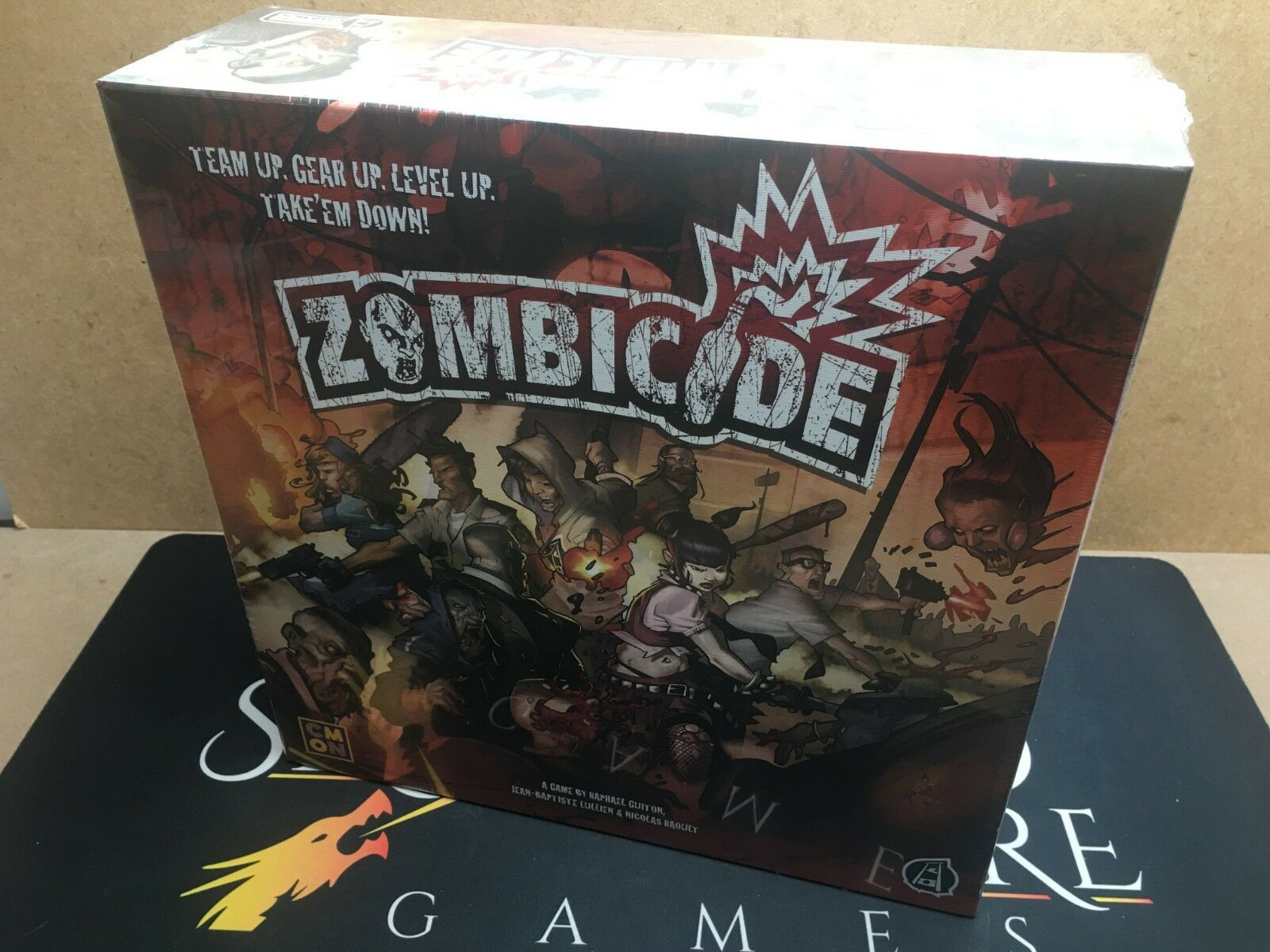 Oeuf de noel Zombicide jeu de plateau-CMON Limited Limited Limited (origine scellée) dd1278