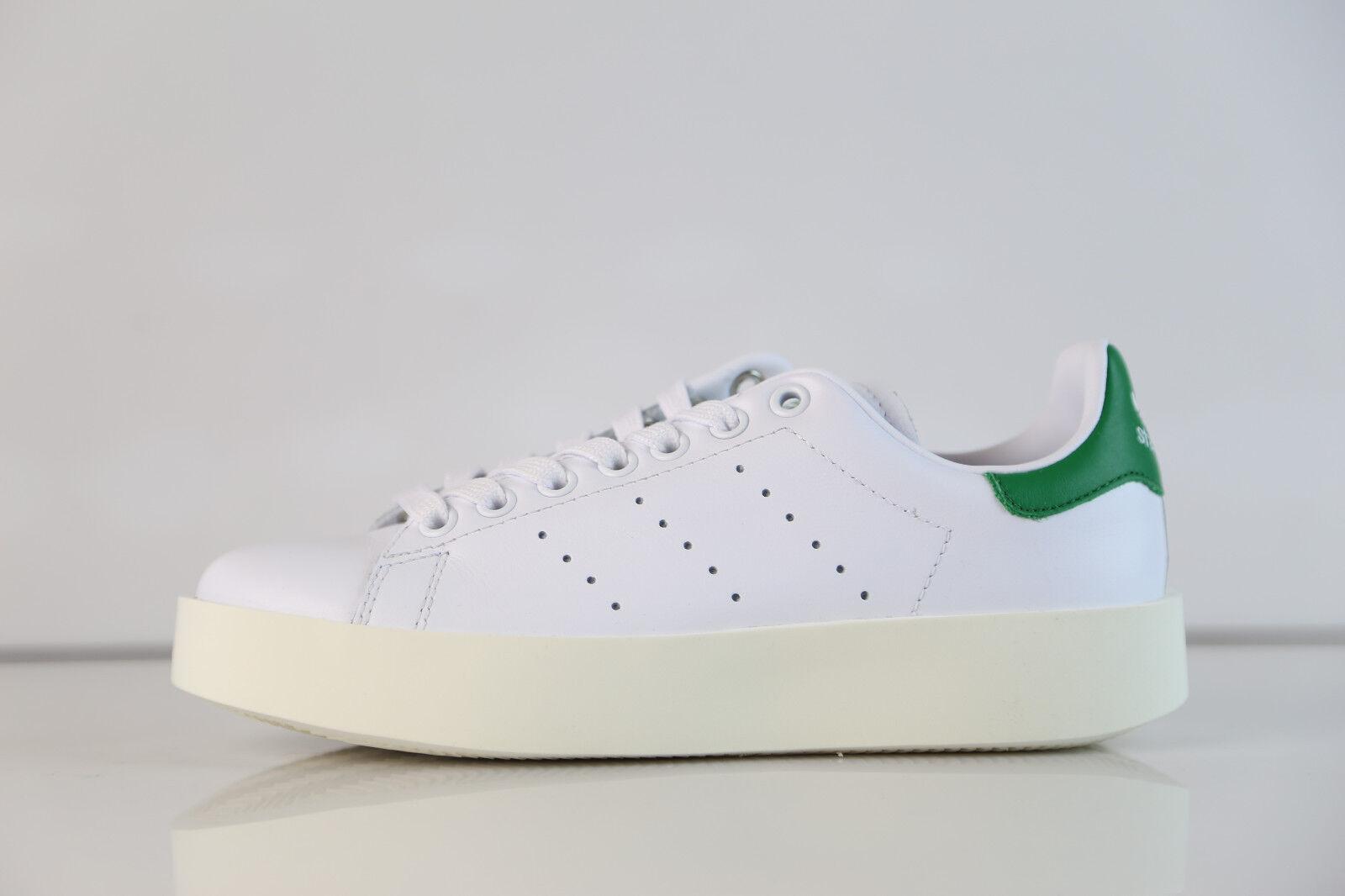Adidas Womens Stan Smith Bold W White Green S32266 5-11  originals boost 1