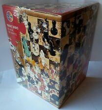 Heye Puzzle Poster Marino Degano Black or White 1000 Pz Scacchi Fumetti 68X48Cm