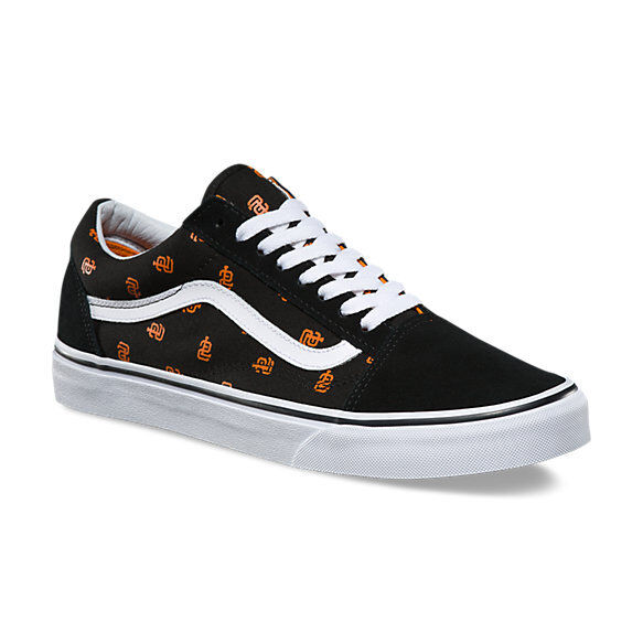 orange vans shoes