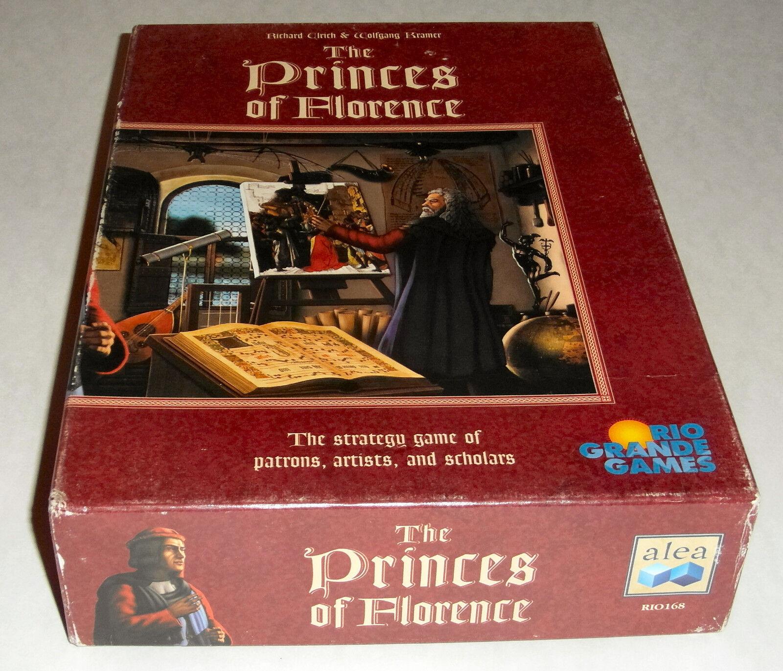 The Princes of Florence - Rio Grande Games - 2000