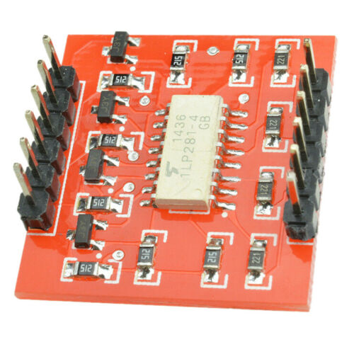 20X 1 pcs TLP281 4-Channel Opto-isolator IC Module For Arduino Expansion Board M
