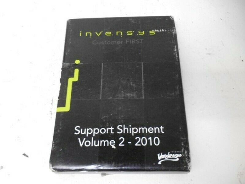 INVENSYS SUPPORT SHIPMENT VOLUME 2-2010  NEW IN BOX