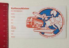 Aufkleber/Sticker: Kofferaufkleber - Reisedienst Bodo Henker (130416111)