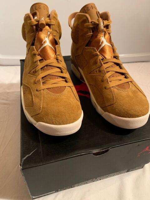 01f089bd9bb19c 2017 Nike Air Jordan 6 VI Retro Golden Harvest Wheat Size 9.5. 384664-705