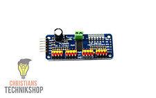 PCA9685 Servomotor Driver | 16-Kanal Treiber 12-bit | PWM & I2C