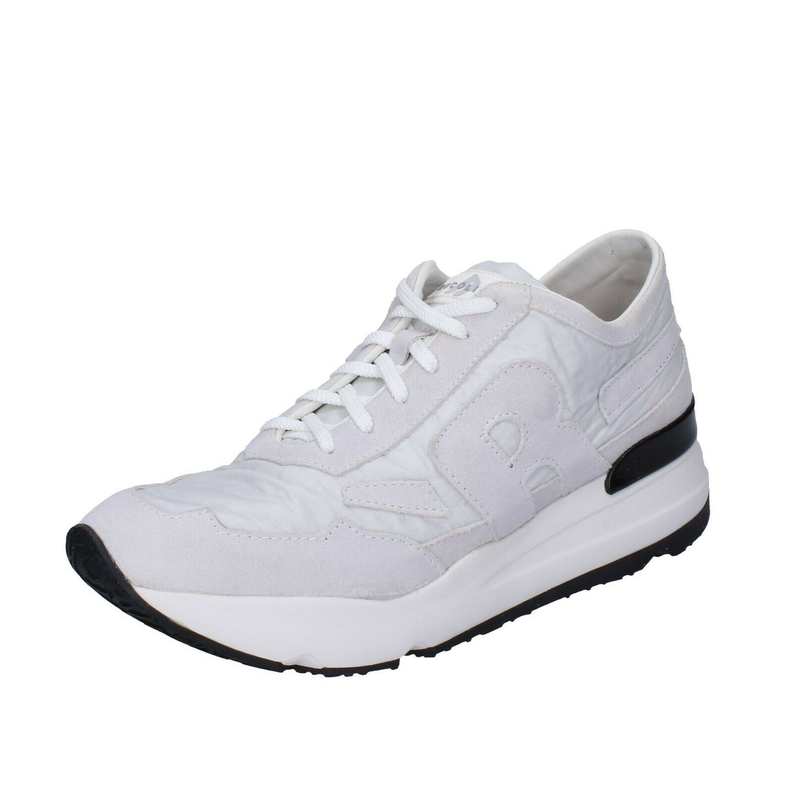 Men's shoes RUCO LINE 11 (EU 45) sneakers white suede textile BH392-45